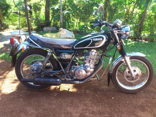 Yamaha SR 500 G (cast wheels) 1980 #6