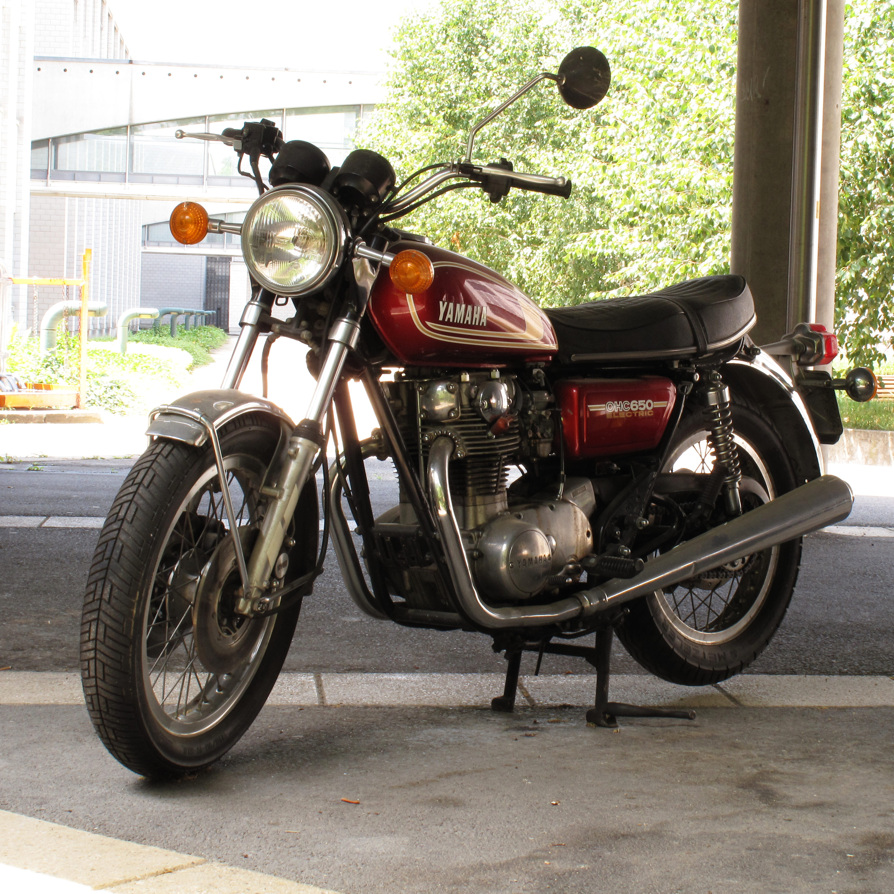 Yamaha SR 500 G (cast wheels) 1980 #8