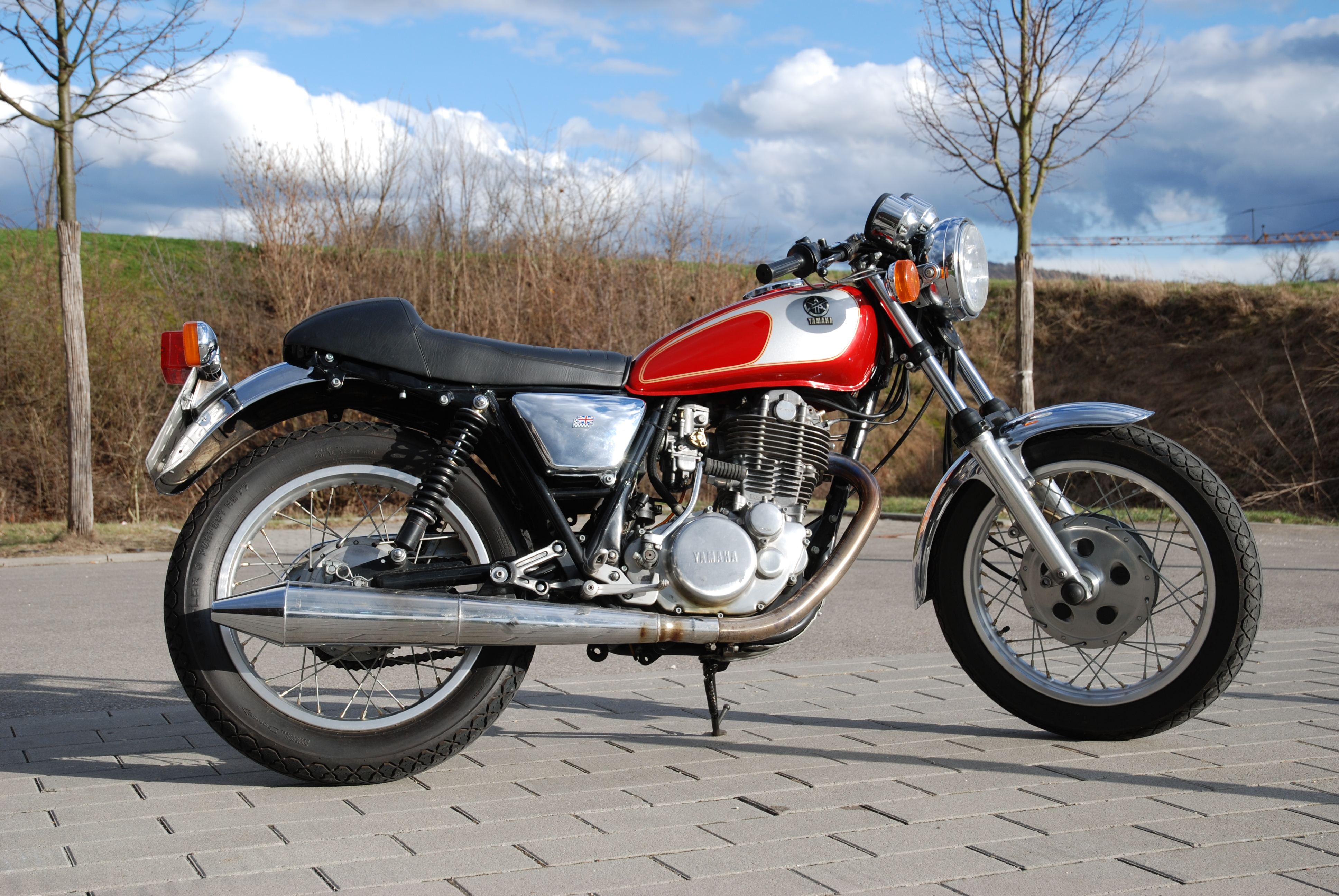 Yamaha SR 500 G (cast wheels) 1981 #1