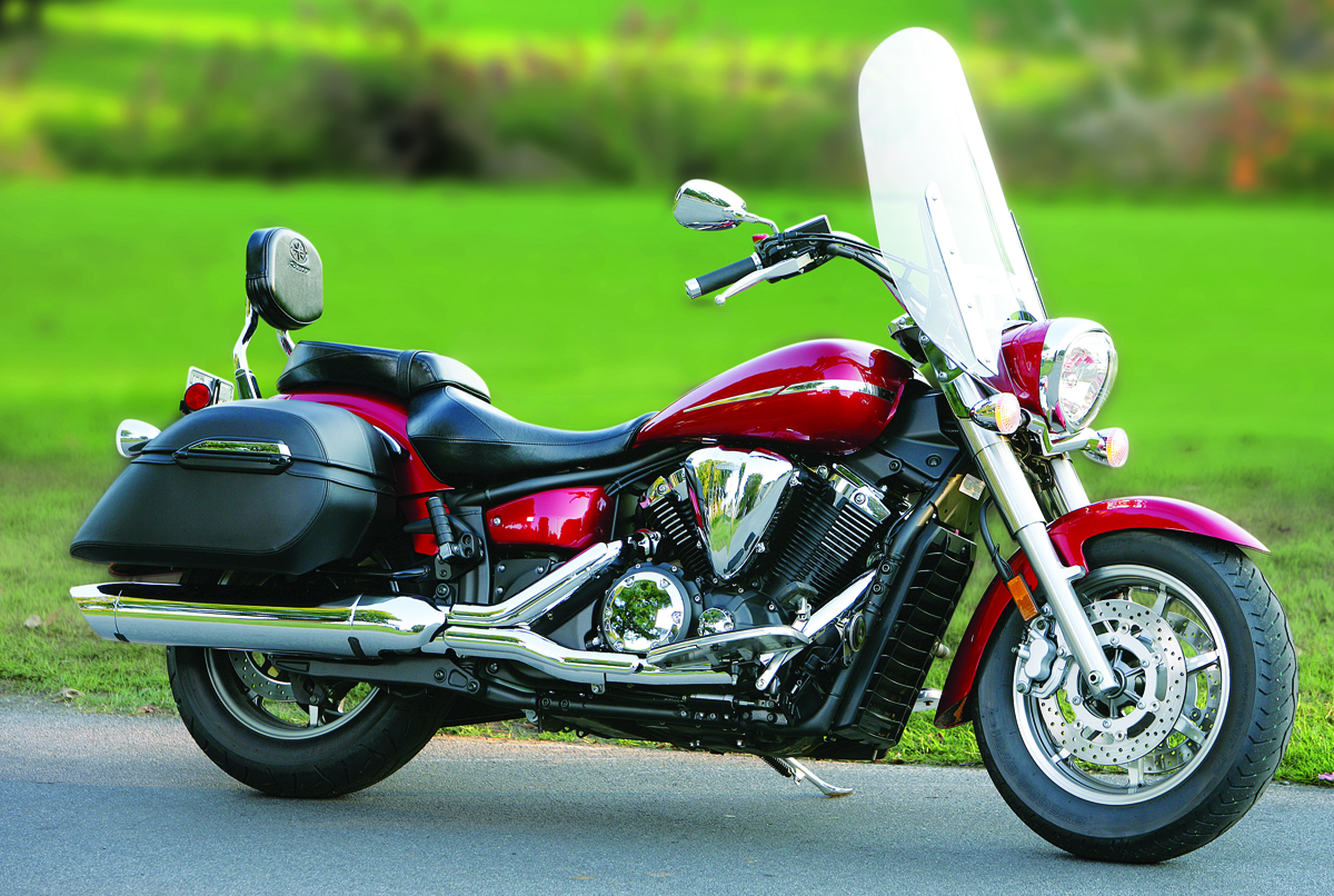 Yamaha V Star 1300 Tourer 2014 #6