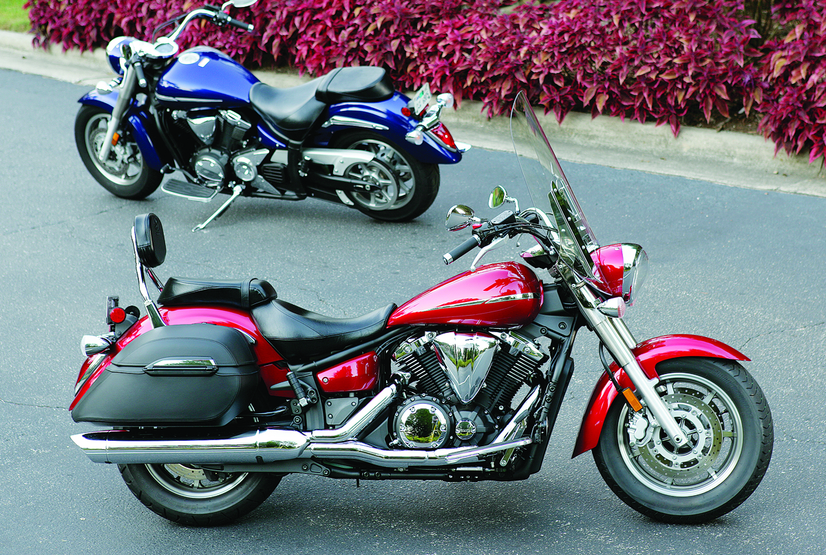 Yamaha V Star 1300 Tourer 2014 #9