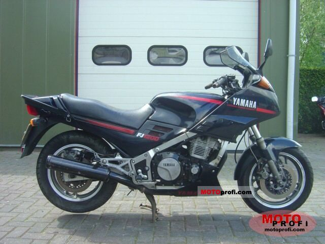 Yamaha XJ 600 (reduced effect) 1987 #11