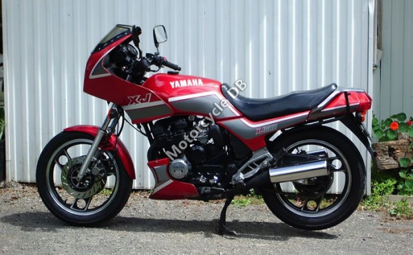 Yamaha XJ 600 (reduced effect) 1987 #2