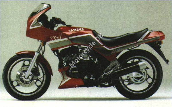 Yamaha XJ 600 (reduced effect) 1987 #4