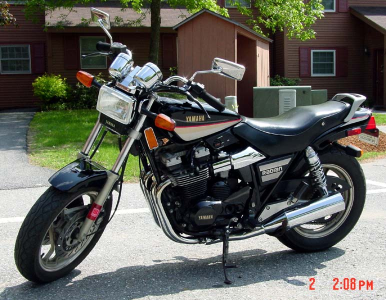 Yamaha XJ 600 (reduced effect) 1987 #6