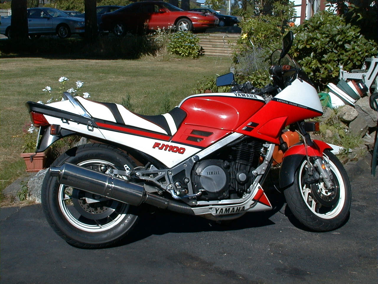 Yamaha XJ 600 (reduced effect) 1987 #7