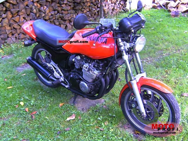 Yamaha XJ 600 (reduced effect) 1987 #9