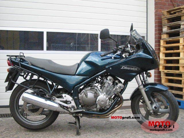 Yamaha XJ 600 S Diversion 1998 #3