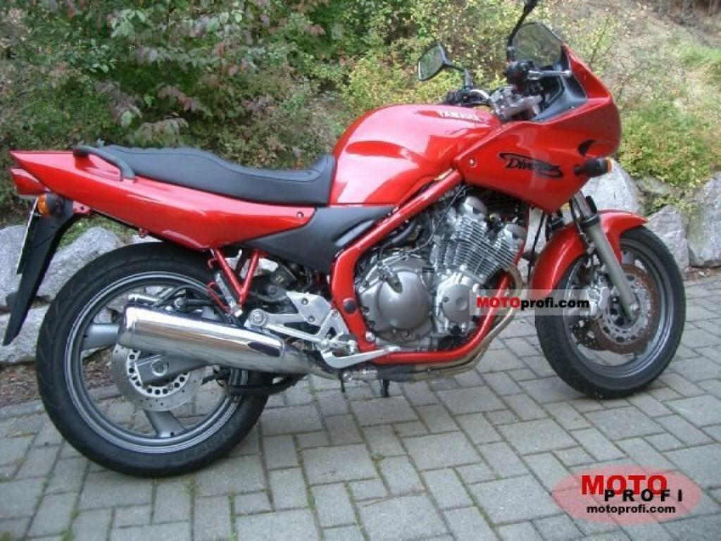 Yamaha XJ 600 S Diversion (reduced effect) #1