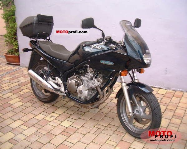 Yamaha XJ 600 S Diversion (reduced effect) #10