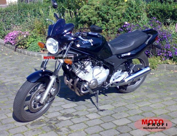 Yamaha XJ 600 S Diversion (reduced effect) 1992 #11