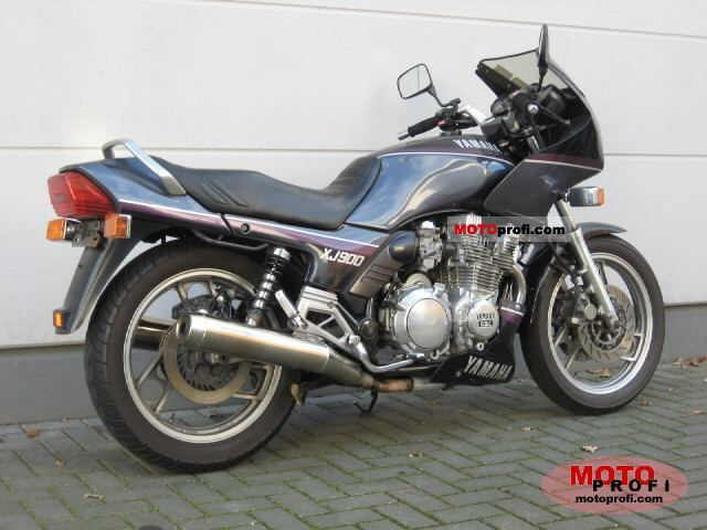 Yamaha XJ 600 S Diversion (reduced effect) 1992 #7