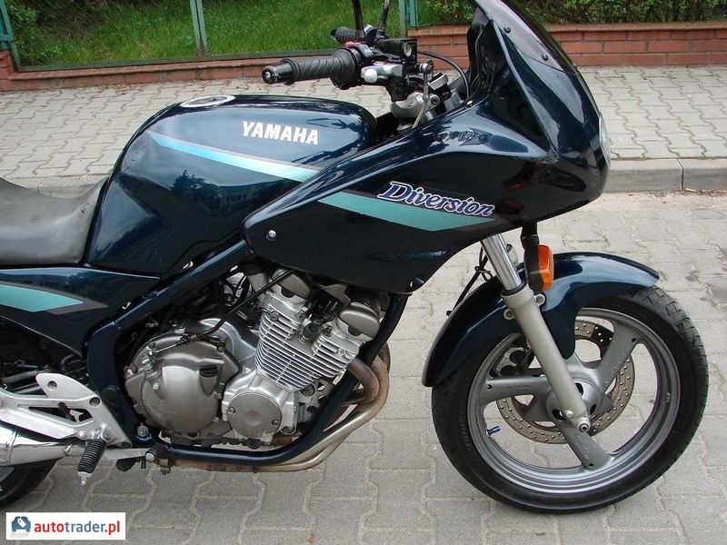 Yamaha XJ 600 S Diversion (reduced effect) #2