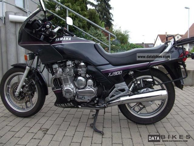 Yamaha XJ 600 S Diversion (reduced effect) #9
