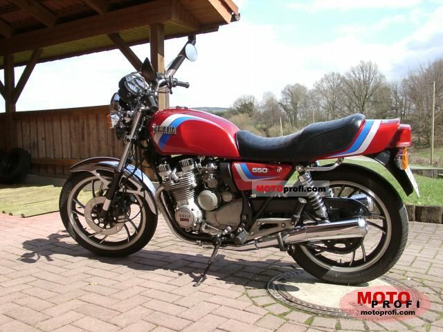 Yamaha XS 400 DOHC (reduced effect) 1986 #6