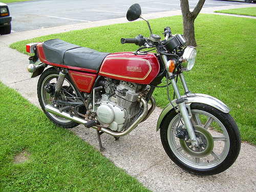 Yamaha XS 400 DOHC (reduced effect) 1986 #7