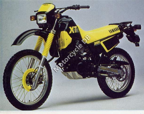 Yamaha XT 350 (reduced effect) 1988 #2