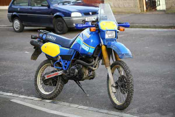 Yamaha XT 600 (reduced effect) 1987 #10