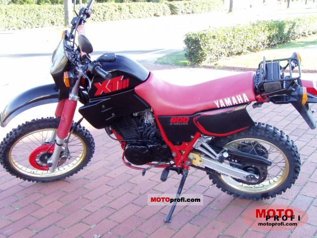 Yamaha XT 600 (reduced effect) 1987 #2