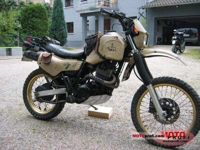 Yamaha XT 600 (reduced effect) 1987 #5