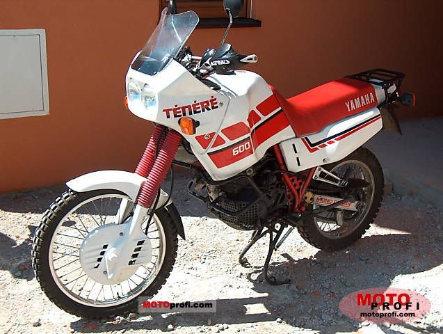 Yamaha XT 600 (reduced effect) 1987 #7