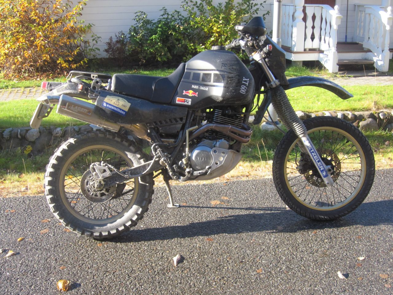 Yamaha XT 600 (reduced effect) 1987 #9