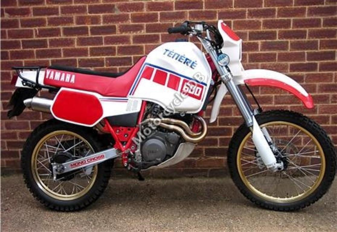 Yamaha XT 600 Tenere (reduced effect) 1986 #3
