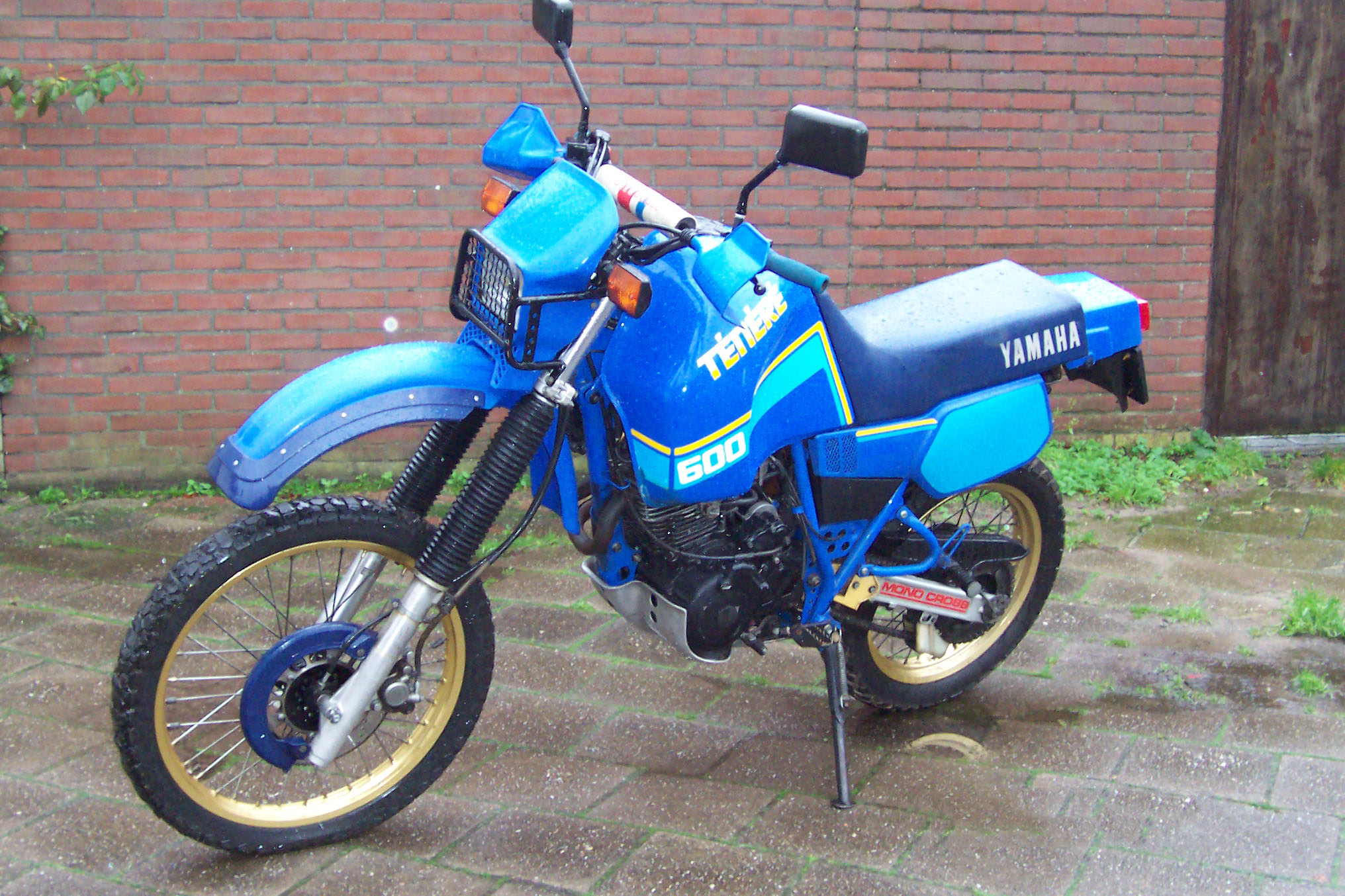 Yamaha XT 600 Tenere (reduced effect) 1986 #4