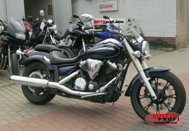 Yamaha XVS950A Midnight Star 2010 #13