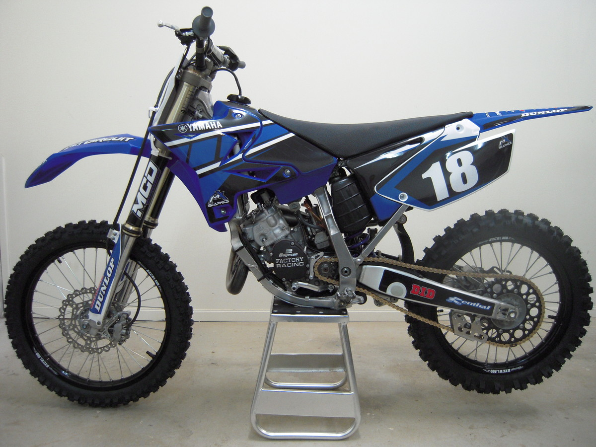 2008 yamaha yz 125 moto zombdrive com. Black Bedroom Furniture Sets. Home Design Ideas