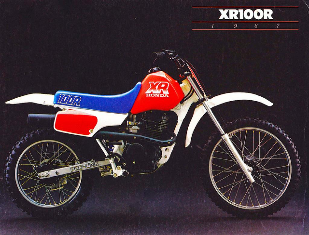 Honda Xr R on Honda Xr 100