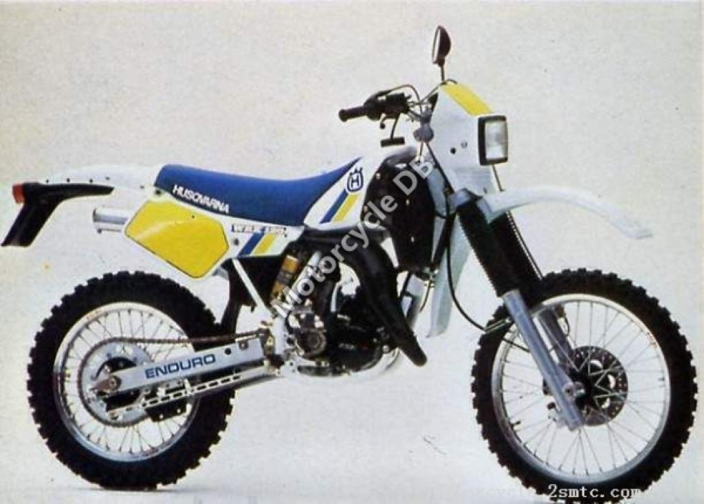 1990 husqvarna 125 wrk moto zombdrive com. Black Bedroom Furniture Sets. Home Design Ideas
