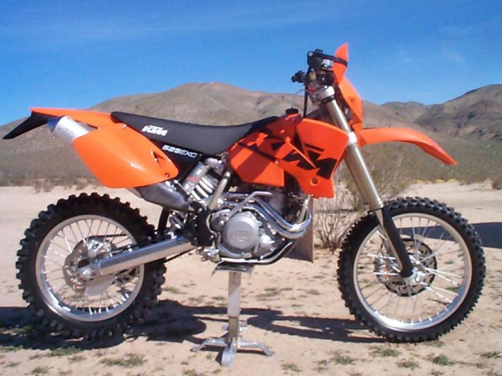 2006 ktm 525 xc desert racing moto zombdrive com. Black Bedroom Furniture Sets. Home Design Ideas