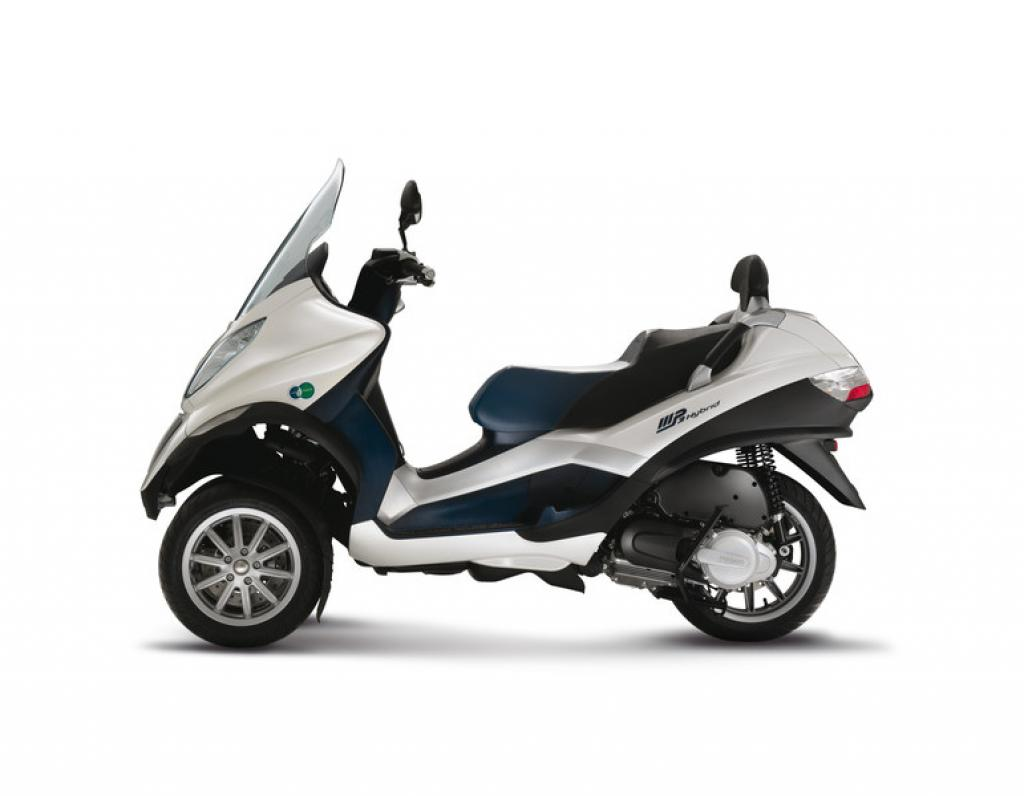 2010 piaggio mp3 hybrid 125 moto zombdrive com. Black Bedroom Furniture Sets. Home Design Ideas