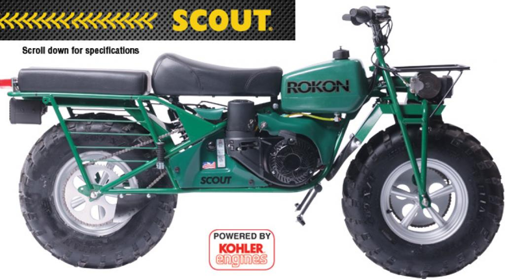 rokon rokon scout moto zombdrive com. Black Bedroom Furniture Sets. Home Design Ideas