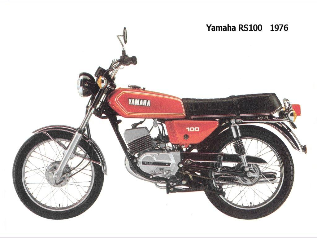 1980 yamaha rs 125 moto zombdrive com. Black Bedroom Furniture Sets. Home Design Ideas