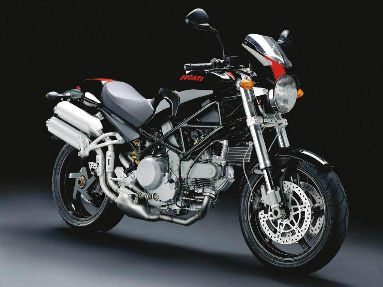 2008 Ducati Monster S2R 1000 Photos, Informations