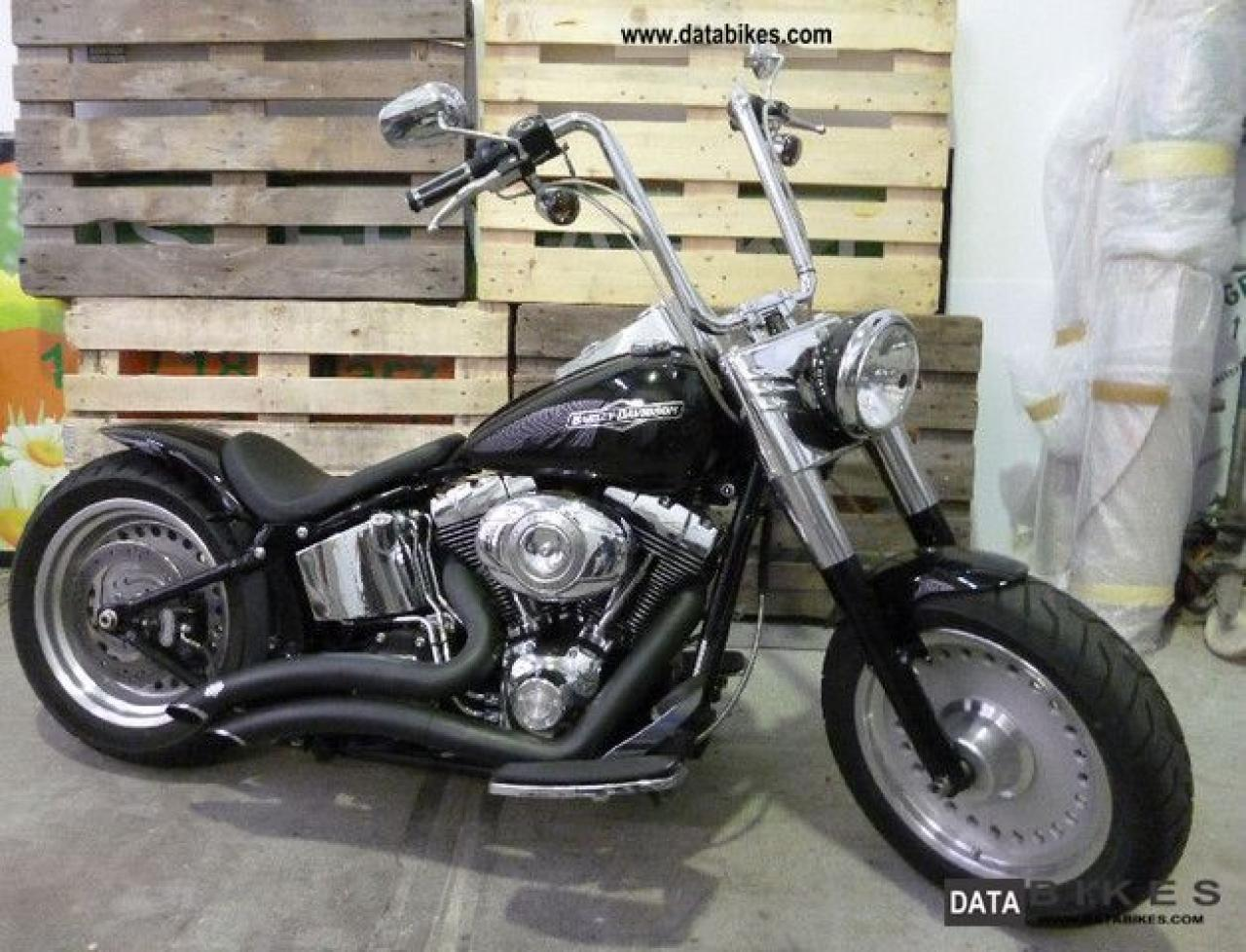 2009 harley davidson flstf fat boy moto zombdrive com. Black Bedroom Furniture Sets. Home Design Ideas
