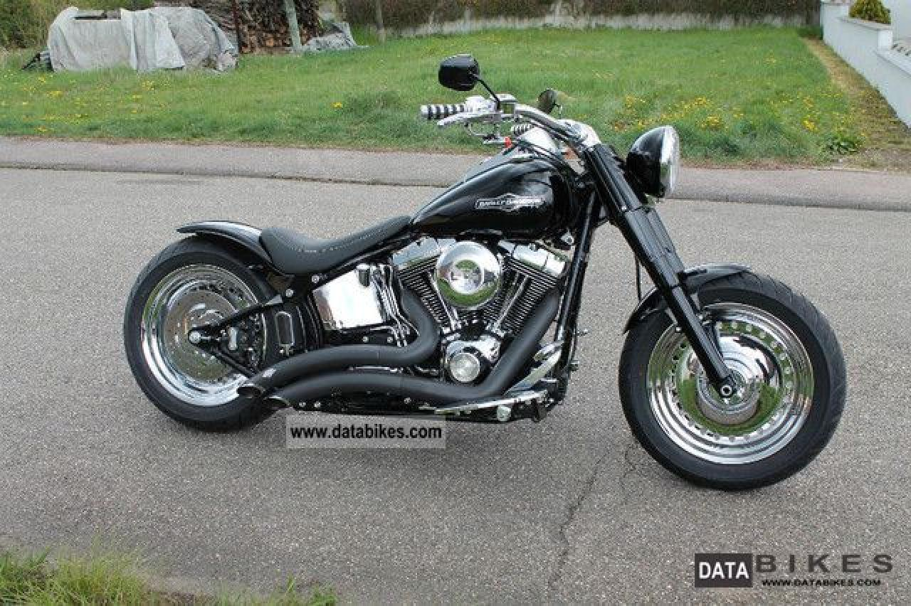 2005 harley davidson flstfi softail fat boy moto zombdrive com. Black Bedroom Furniture Sets. Home Design Ideas
