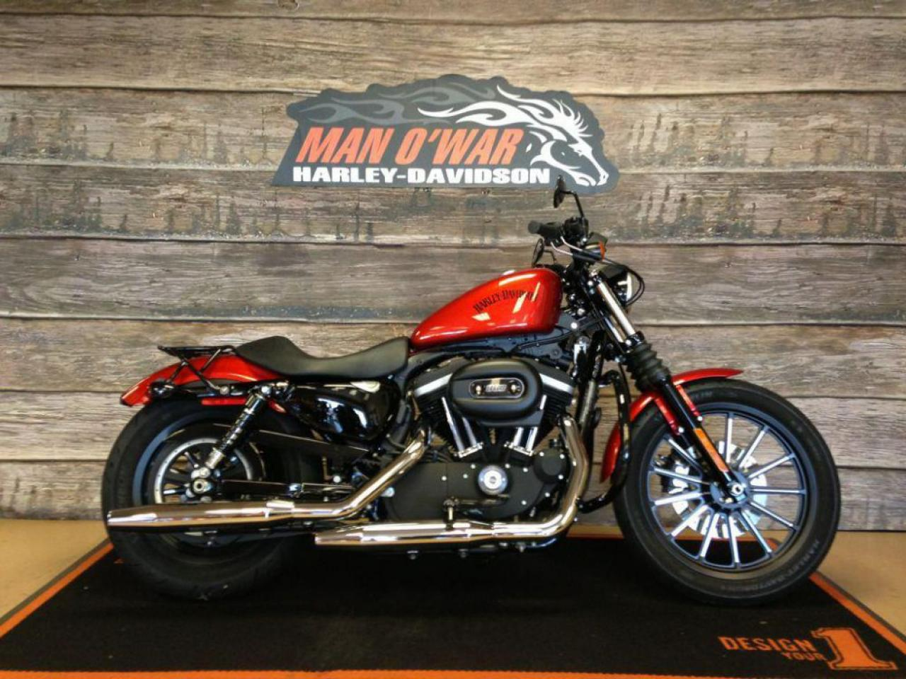 2013 Harley Davidson Iron 883 Start up and First Ride!