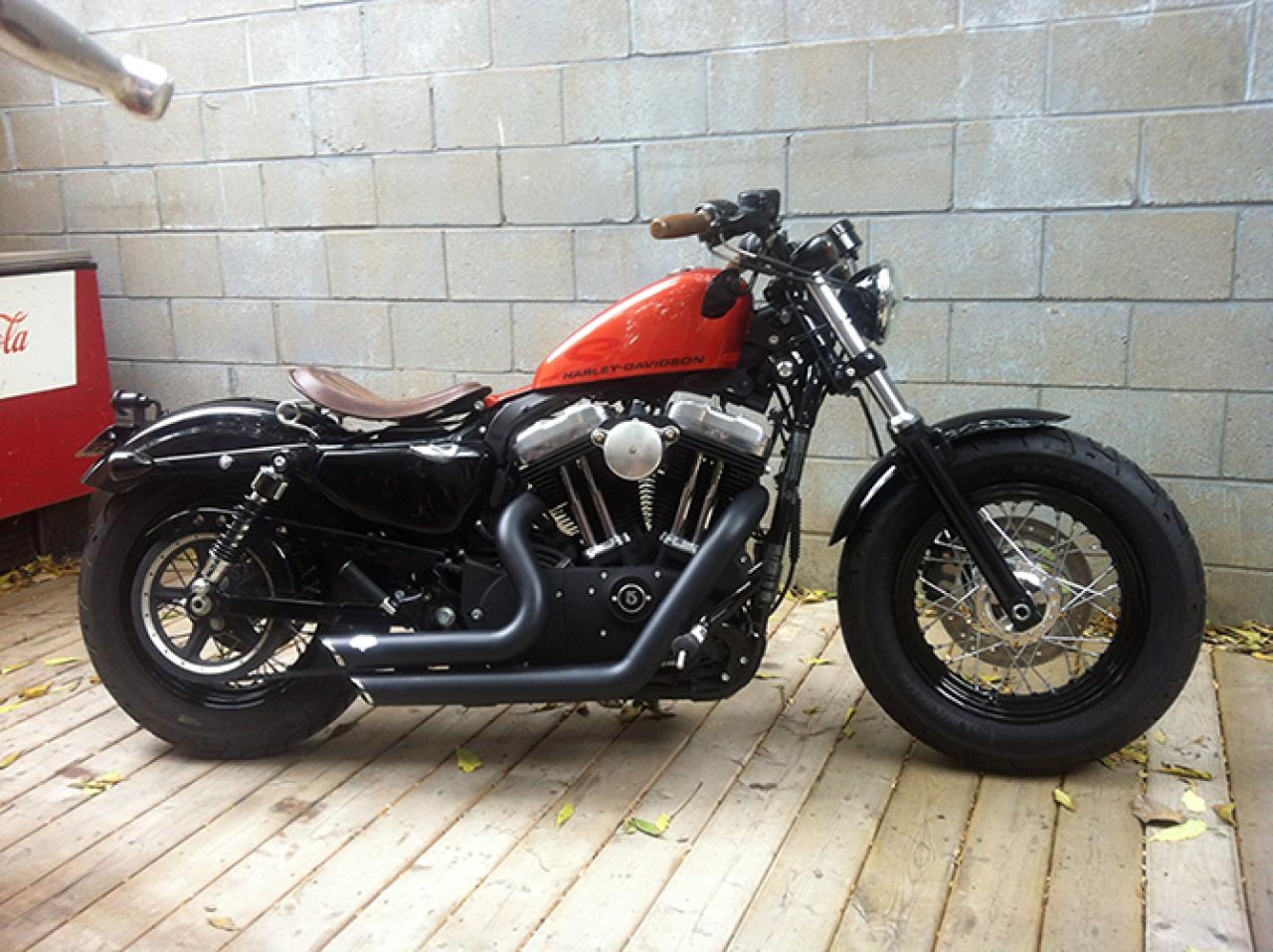 harley davidson harley davidson xl1200x springer forty eight moto zombdrive com. Black Bedroom Furniture Sets. Home Design Ideas