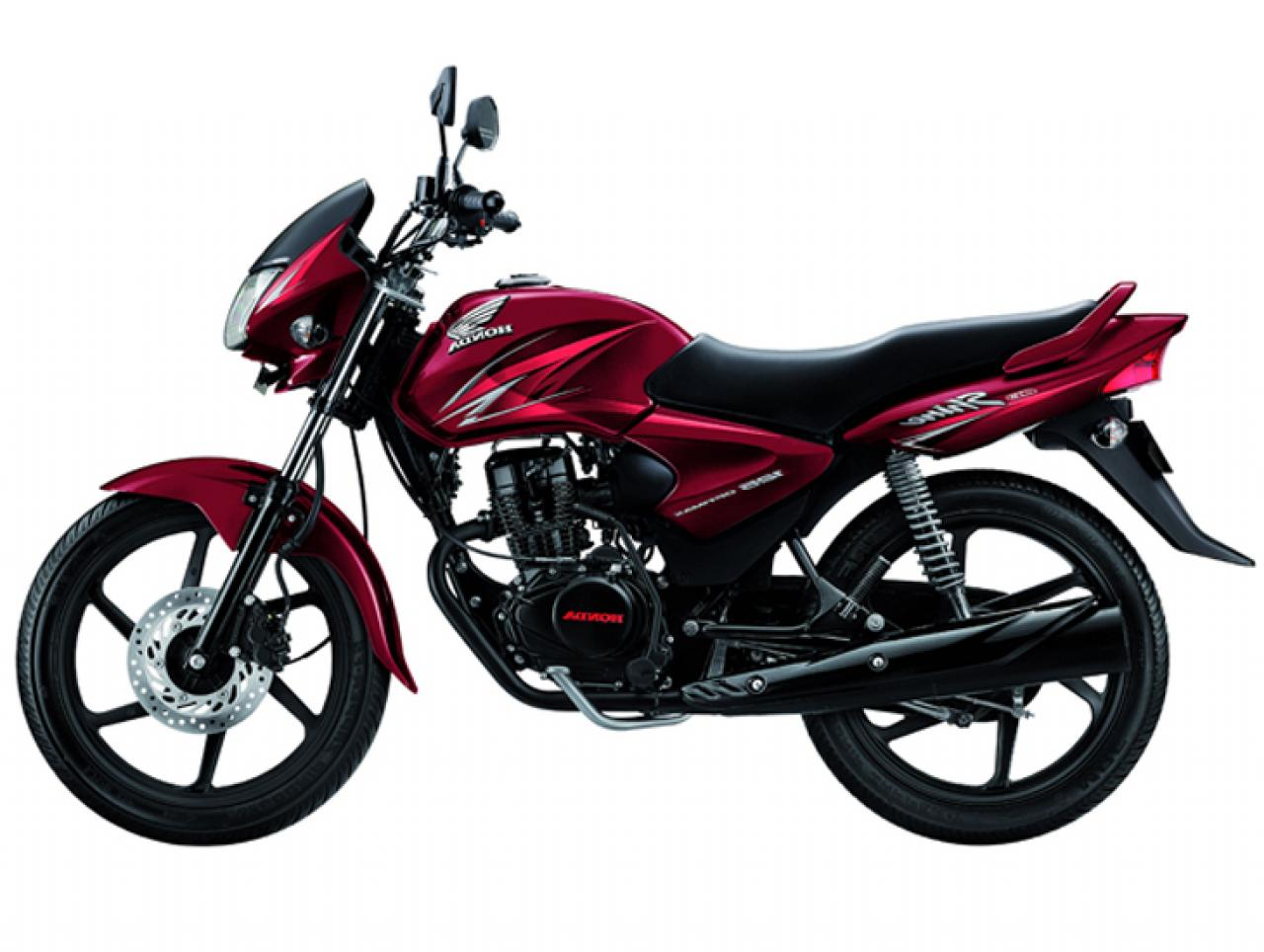Honda shine 125 red