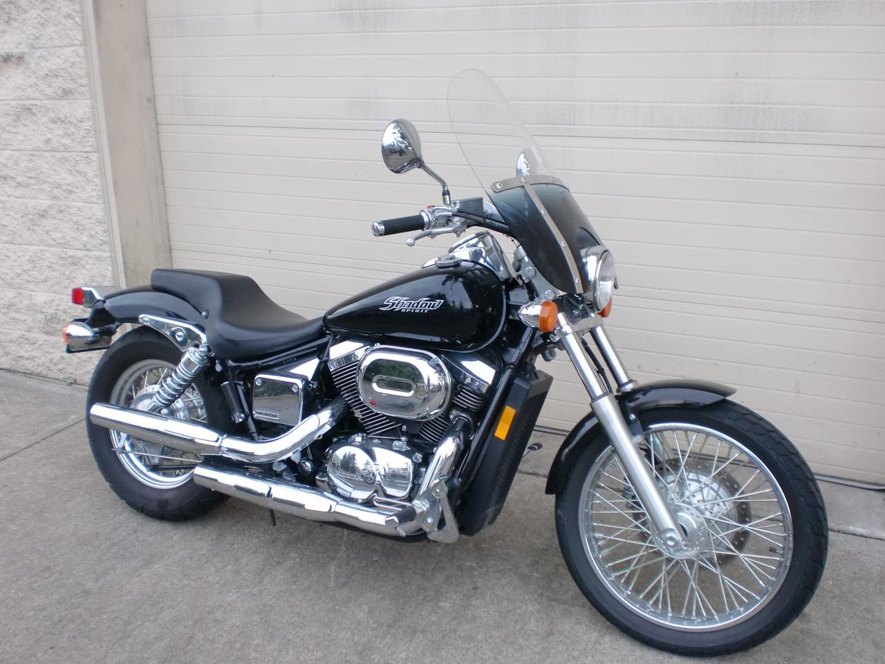 2008 honda shadow spirit 750 vt750c2 moto zombdrive com. Black Bedroom Furniture Sets. Home Design Ideas