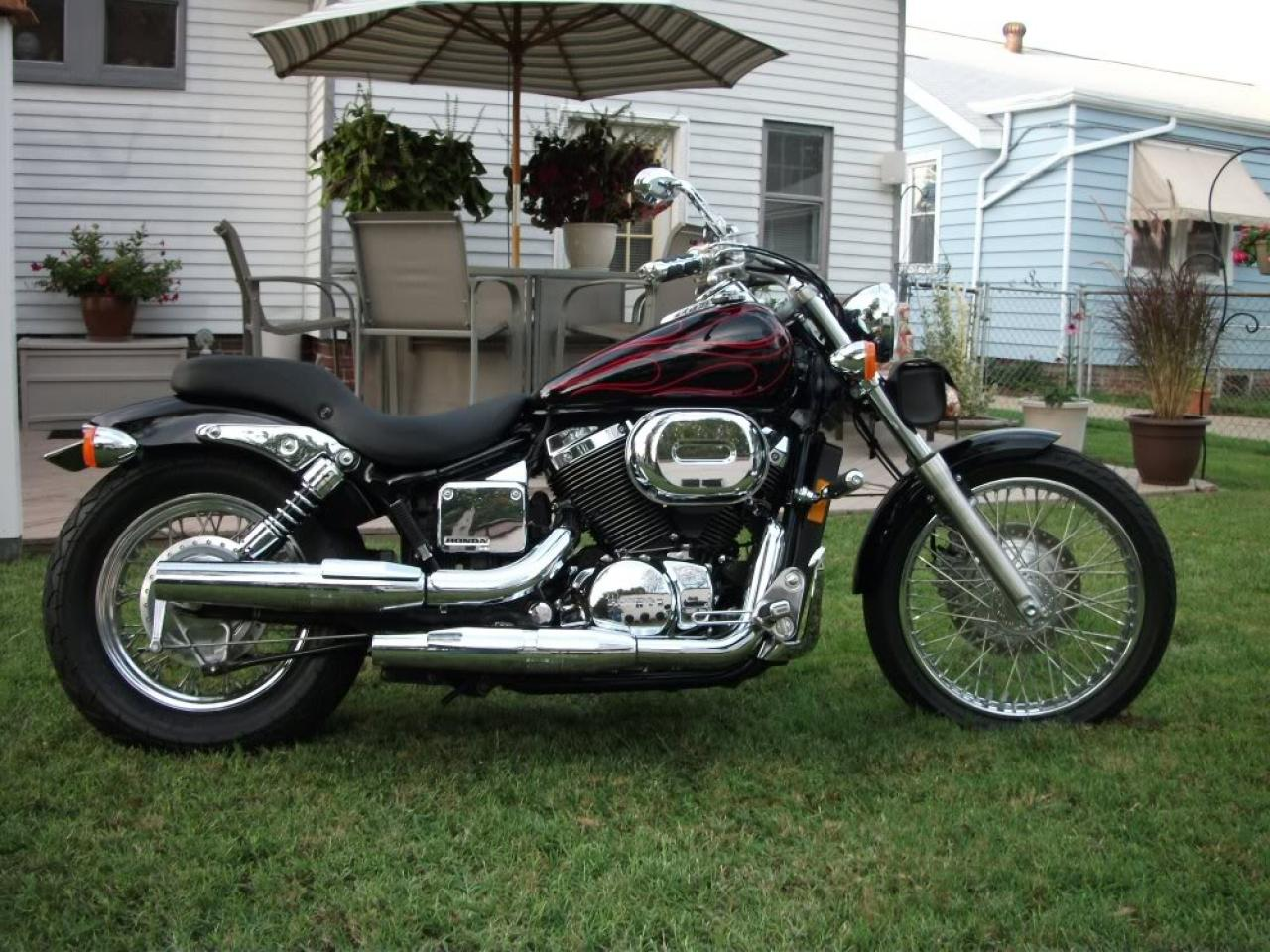 2007 honda shadow spirit 750dc vt 750 dc moto. Black Bedroom Furniture Sets. Home Design Ideas