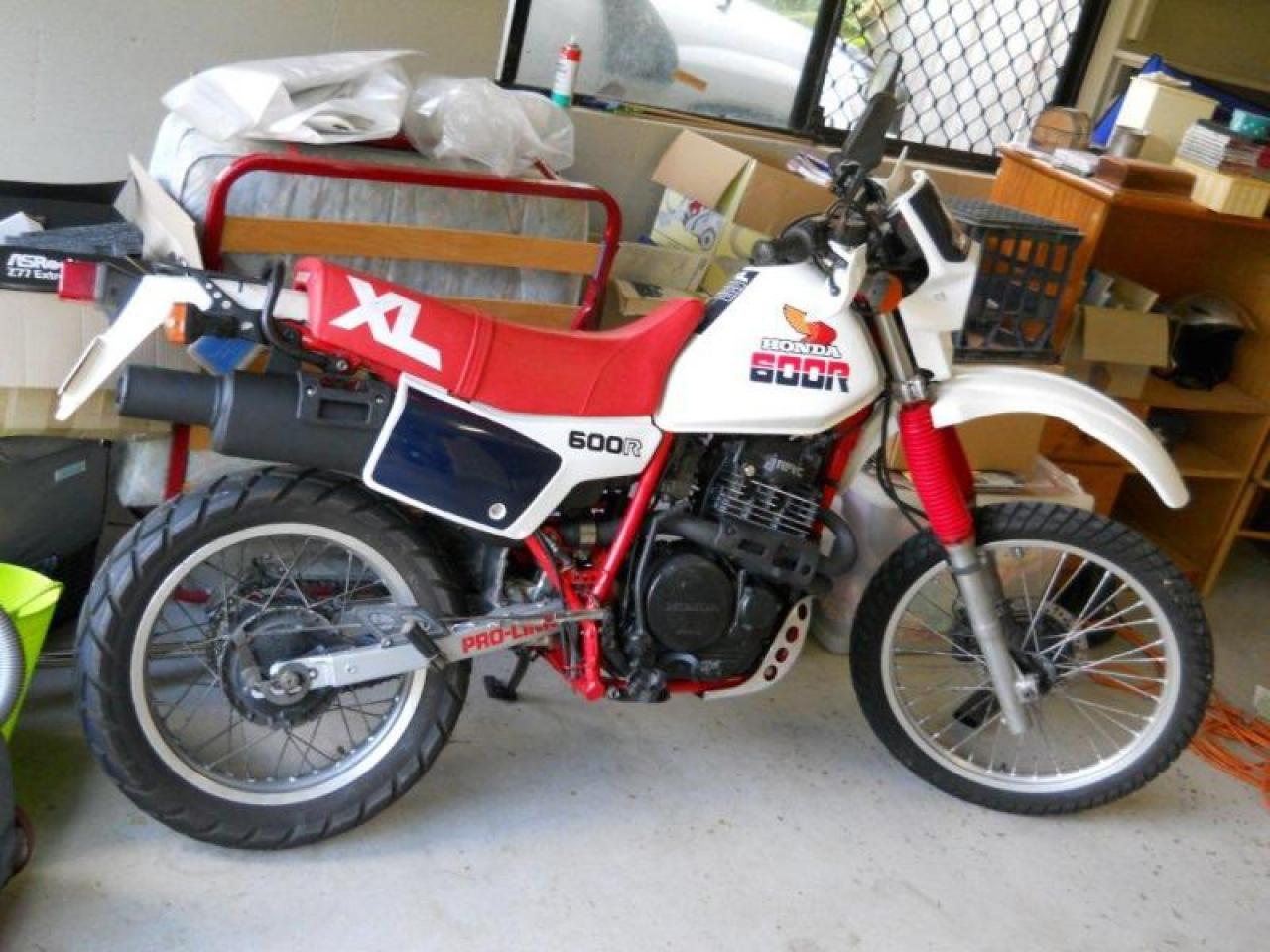 1983 Honda Xl600r Manual