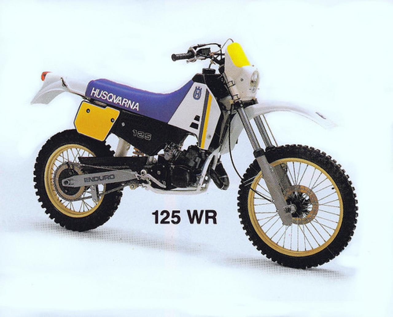 1987 husqvarna 125 wr moto zombdrive com. Black Bedroom Furniture Sets. Home Design Ideas