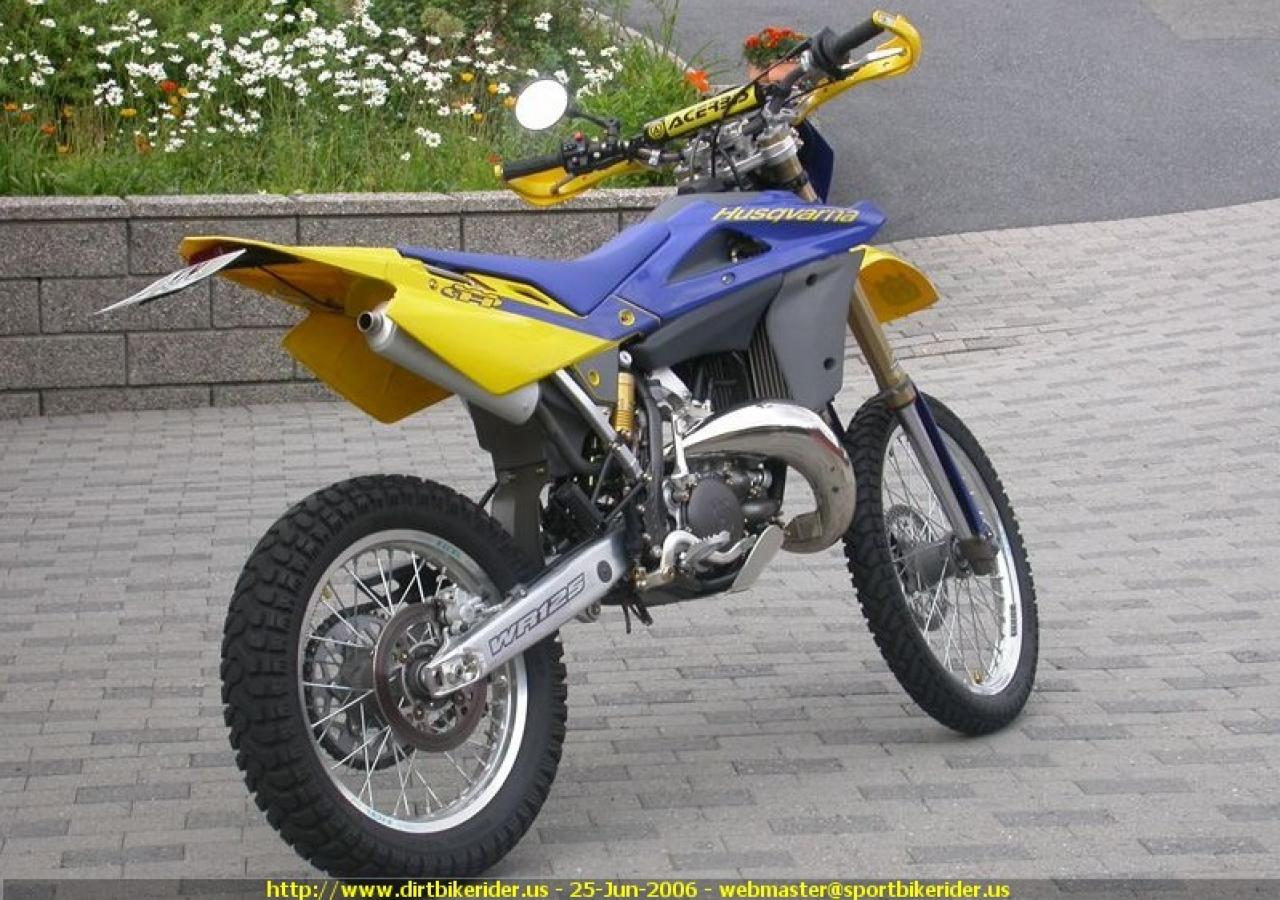 2006 husqvarna wr 125 moto zombdrive com. Black Bedroom Furniture Sets. Home Design Ideas