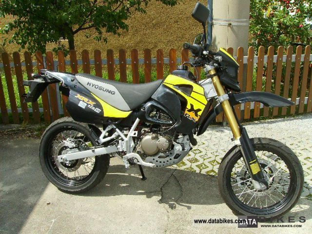 2008 hyosung xrx 125 supermoto moto zombdrive com. Black Bedroom Furniture Sets. Home Design Ideas