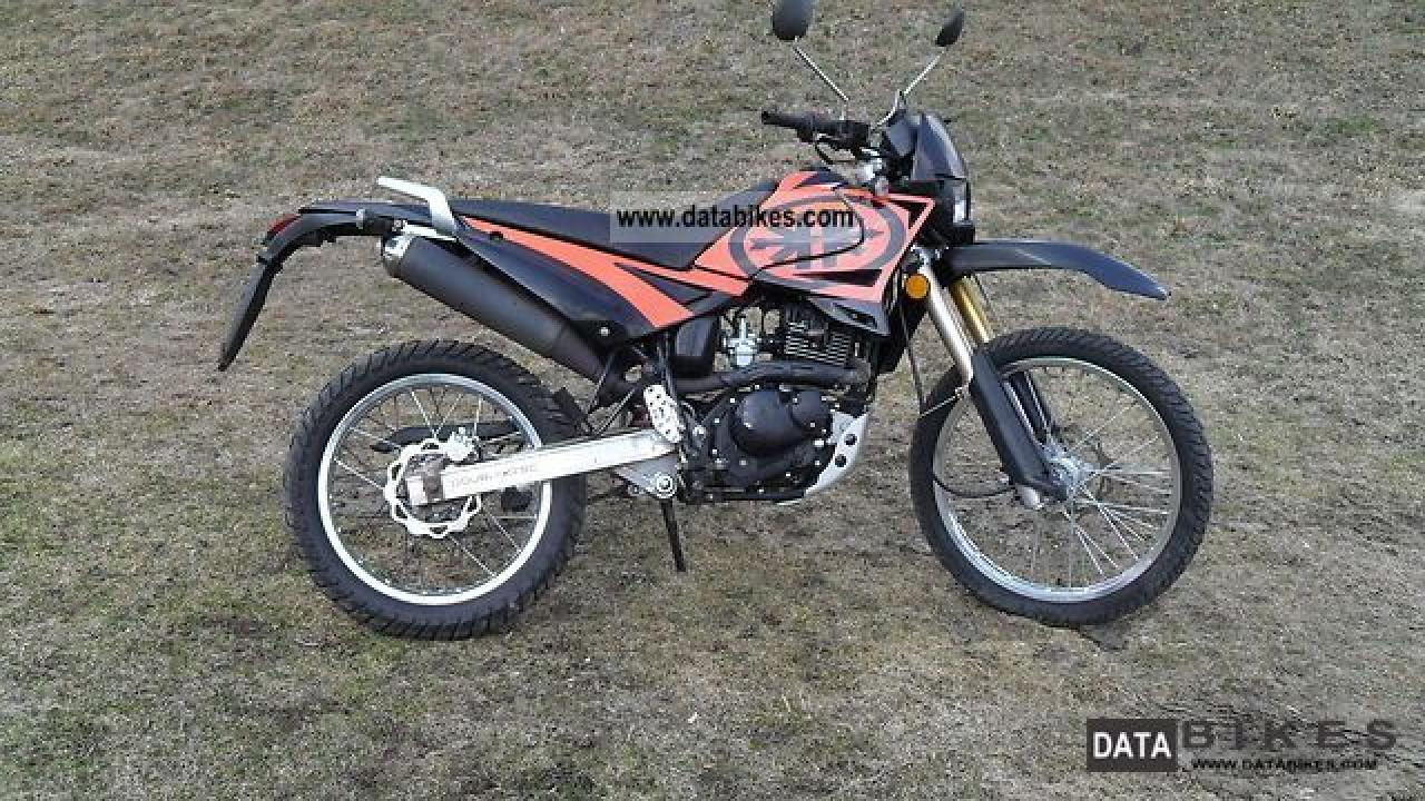 2009 kreidler enduro 125 dd moto zombdrive com. Black Bedroom Furniture Sets. Home Design Ideas