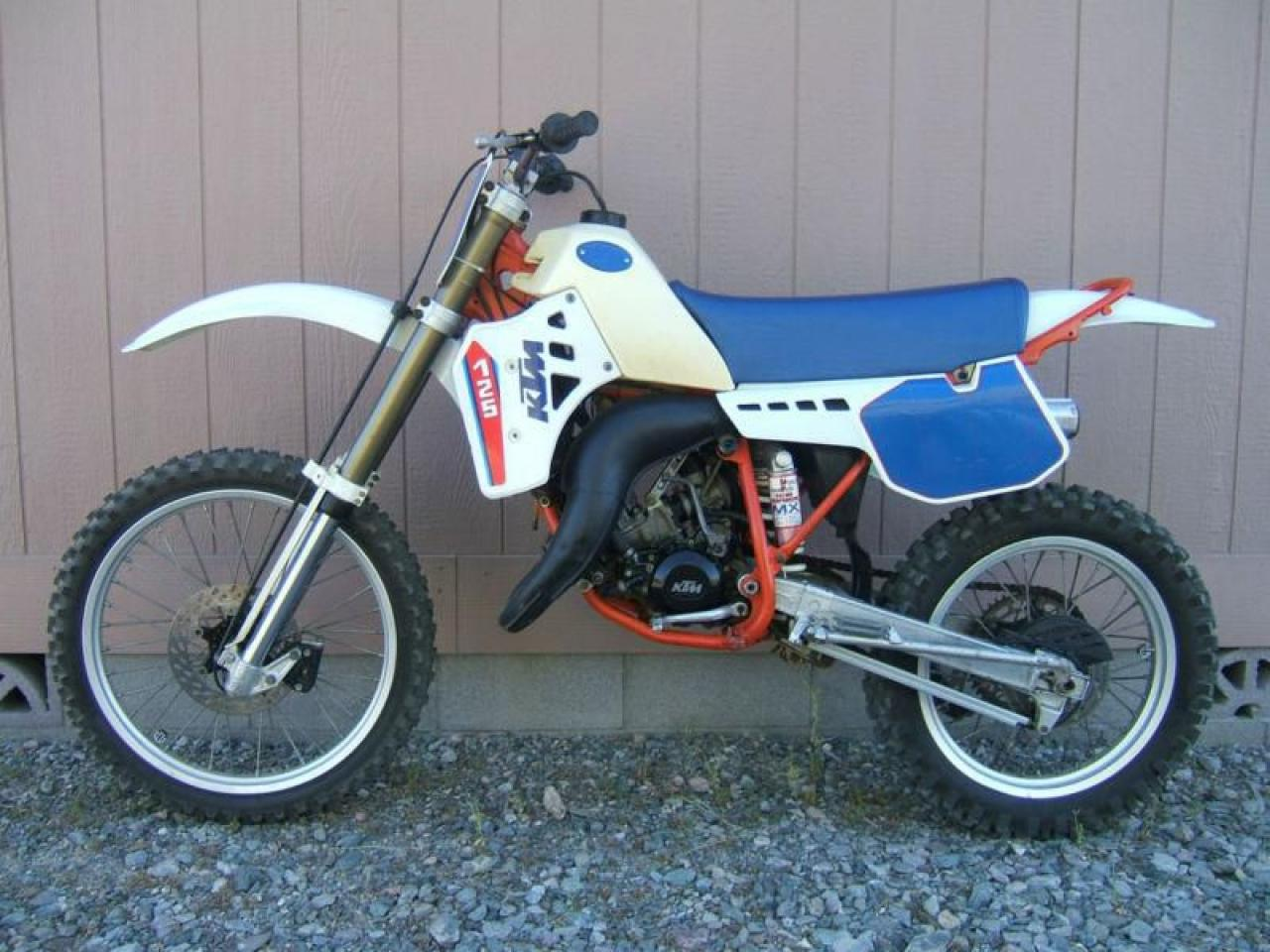 1986 ktm 125 enduro sport moto zombdrive com. Black Bedroom Furniture Sets. Home Design Ideas